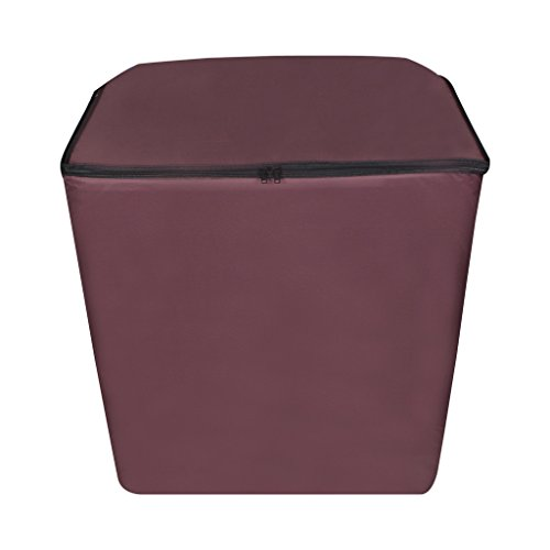 Dream Care Maroon Waterproof & Dustproof Washing Machine Cover for Semi Automatic 8.5Kg Model