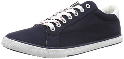 TOM TAILOR Herren 695100530 Sneaker, Blau (Navy 00003), 42 EU - Toms Blau-herren
