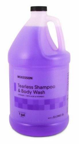 mckesson-tearless-shampoo-body-wash-lavender-scent-1-gallon-jug-1-each-1-jug-by-mckesson