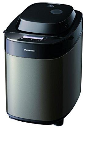 Panasonic Deutschland SD-ZX2522KXG Brotbäcker, dunkler edelstahl