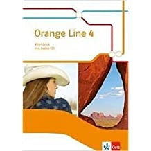 Orange Line / Ausgabe 2014: Orange Line / Workbook mit Audio-CD Klasse 8: Ausgabe 2014