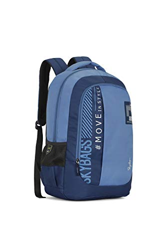 Best skybags backpack in India 2020 Skybags Beatle 01 27 Ltrs Blue Casual Backpack (Beatle 01) Image 2
