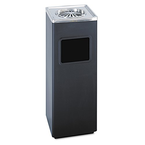 ash-n-trash-sandless-urn-square-stainless-steel-3gal-black-chrome