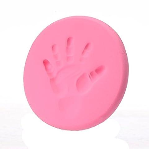 Covermason Baby Handprint Fingerprint Footprint Casting Air Drying Soft Clay Imprint Ink Pad Keepsake