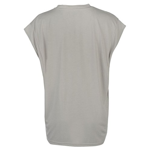 Firetrap Blackseal Obsessed Femme T-Shirt Tee Top Haut Col Rond Casual Sport Gris