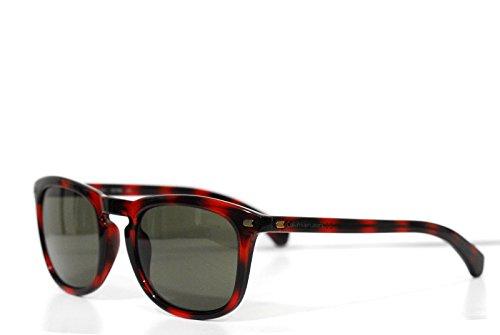 Calvin klein jeans ckj748s-202-52, occhiali da sole uomo, multicolore (warm tortoise) 52.0