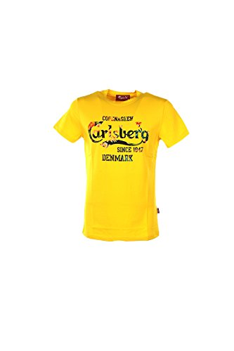 t-shirt-uomo-carlsberg-xl-giallo-cbu2607-primavera-estate-2017