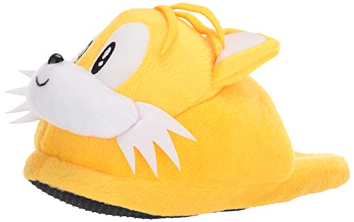 Sonic The Hedgehog Tails Head Slippers (Tails Hedgehog Sonic)