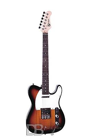Soundsation–Gitarre Cutaway mit 1Single Coil und 1Lipstick Pickup (Single Cutaway Gitarre)