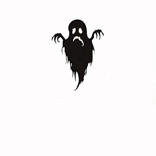Wasserdichte Dekoration Halloween Happy Ghosts Aufkleber für Party Funny Monsters Scream Wandtattoos 42x57cm