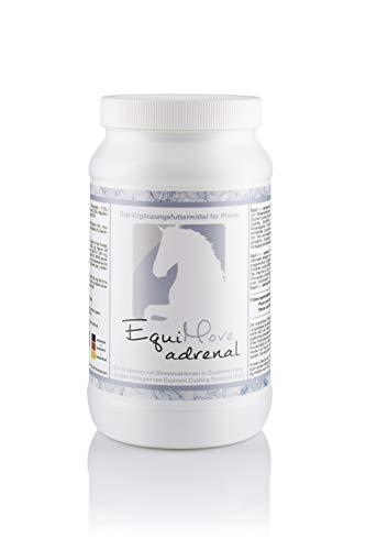 EquiMove adrenal - Diät-Ergänzungsfuttermittel für Pferde, 1,5kg, bei ECS (Equinem Cushing Syndrom) mit Mönchspfeffer-, Artischocken-, Ginkgo- und Mariendistel-Extrakt
