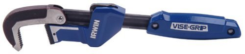 Irwin 274001DS Vise Grip 2-1/4-Inch Jaw Capacity 11-Inch Quick Adjusting Pipe Wrench by IRWIN