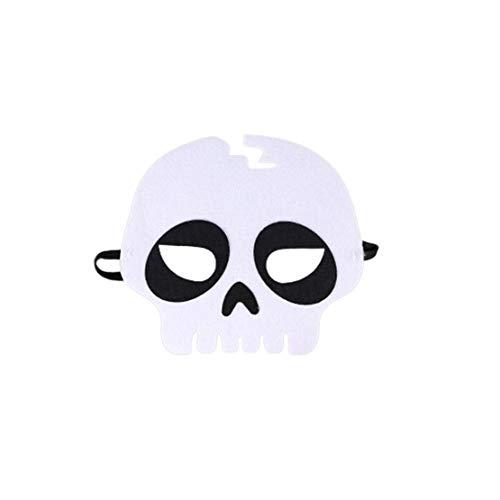 (Sanzhileg Halloween Maske Halloween Make Up Maske Halloween Kostüm Kostüme - Skull)