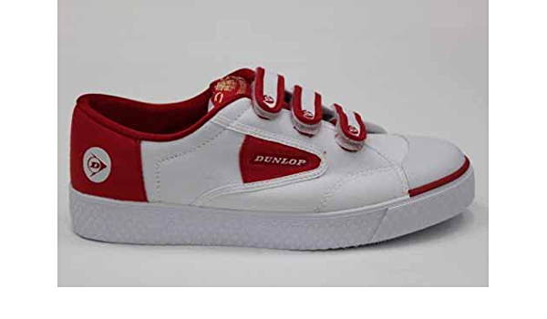 Dunlop Green Flash Red 1555 Velcro