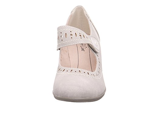 Softline 8-8-24366-28-200, Scarpe col tacco donna 200GREY