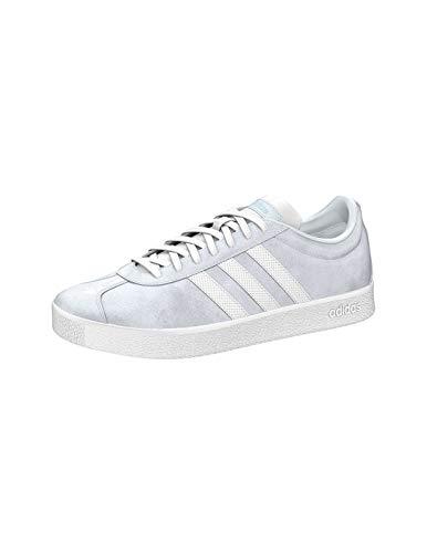 adidas Damen VL Court 2.0 klassischer Schnürhalbschuh Größe 40 EU Grau (grau)