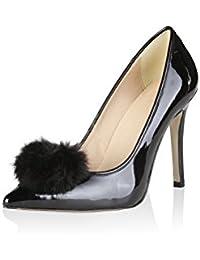 V 1969 - MAEVA_NERO Escarpins Femme Et Chaussures À Talons Hauts Stiletto Talon: 10 cm