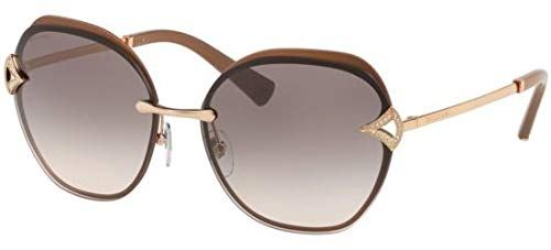 Sonnenbrillen Bvlgari Diva's Dream BV 6111B Rose Gold/Light Grey Shaded Damenbrillen