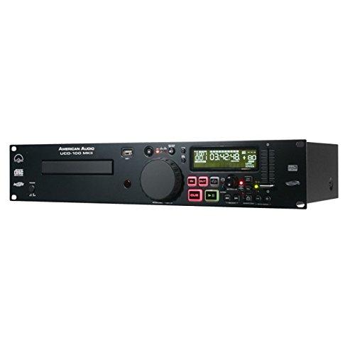 American Audio UCD100 CD/MP3-Player (48,3 cm (19 Zoll), USB) Adj Lcd