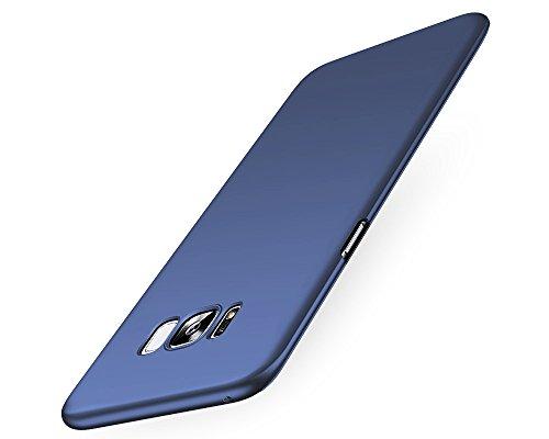 EIISSION Samsung Galaxy S8 Hülle,EMIRROW schlicht dünn Leichte Cover SlimShell Case PC Schutzhülle für Samsung Galaxy S8 Handyhülle,Blau