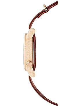 Kerbholz Damen-Armbanduhr Wilma