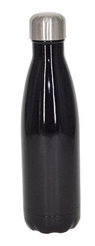 Thermokanne 1L aus Edelstahl Isolierflasche doppelwandig 1 Liter Thermosflasche Thermoskanne Isolierkanne Thermoflasche mit Schraubverschluss