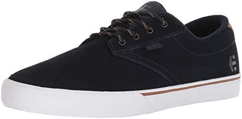 Etnies Herren Jameson Vulc Skateboardschuhe, Blau (Navy 401), 42 EU (8 UK) - Wildleder Deck Shoes