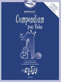 Compendium Pour Violon 1 par Divers Auteurs