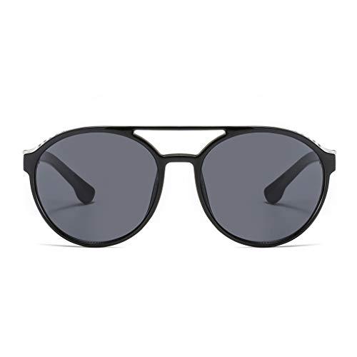 d Sonnenbrillen für Männer UV 400 Schutz Sportbrillen Fahren Fahrrad Angeln Golf Unisex Retro 61er Jahre Augenbraue-Stil und einzigartige Vollformat-Sonnenbrillen ()