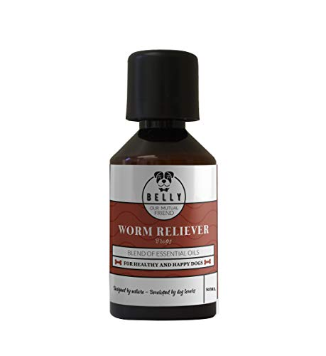Belly Worm Reliever Antiparassitario per Cani by Vermifugo Cani 50 ml | Accessori per Cani | Contro Vermi intestinali e Verme Solitario