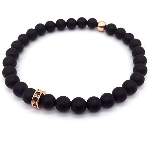 UPPPP Mode Herren Perlenarmband Klassische Mode Stein Perlen Charme Armbänder Für Männer Schmuck Geschenk -