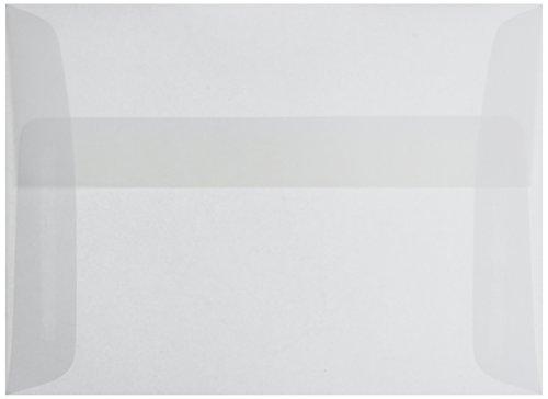 Leader Papier Produkte Umschlag Parchlucent Pergament A6, transparent