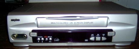 Sanyo vwm-290 Standalone VCR Player TV Tuner for Video Only