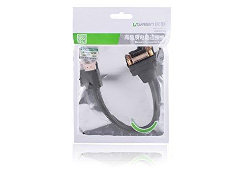 dvi i auf hdmi UGREEN DVI HDMI Adapter DVI auf HDMI Kabel DVI Buchse auf HDMI Adapterkabel HDMI auf DVI-I 24+5 High Speed HDTV bis zu 1080P Full HD für TV Stick, Chromecast usw. 20cm