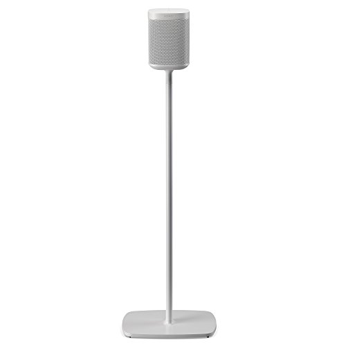 Flexson Floor Stand for Sonos One and Sonos PLAY:1 - White