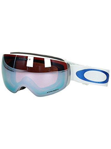 Oakley Unisex-Erwachsene Sportbrille Flight Deck Xm 706459 0, Blau (Lv Sig Glacier Bluee/Prizmsapphireiridium), 99