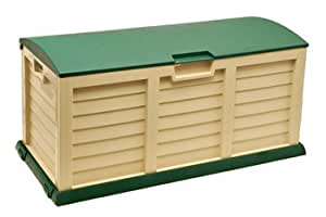 gro e wasserdichte aufbewahrungsbox lagerkasten f r au enbereich kunststoff 390 liter 140. Black Bedroom Furniture Sets. Home Design Ideas