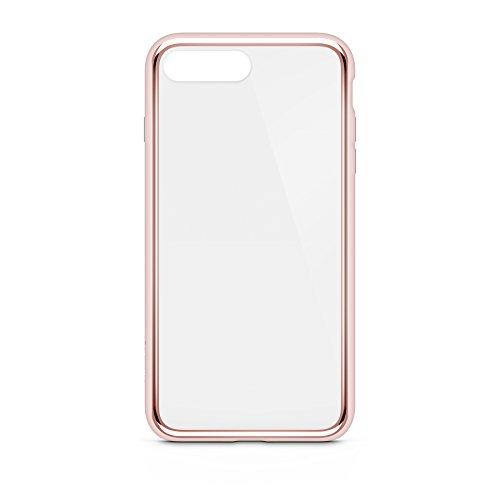 Belkin SheerForce Elite Schutzhülle (Polycarbonat, Sturzsicherheit, Anschlüsse frei zugänglich, geeignet für iPhone 8Plus/7Plus)roségold