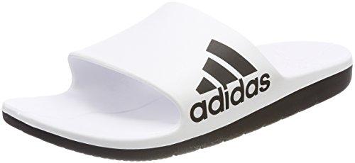 adidas Herren Aqualette Cloudfoam Dusch-& Badeschuhe Mehrfarbig (Ftwr White/core Black/core Black)