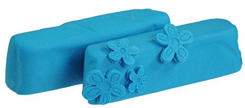 Hobbybäcker Fondant blau, ► Rollfondant, Dekormasse für Torten, Tortendeko, Fondant-Figuren, Fondant-Blumen, 250 g