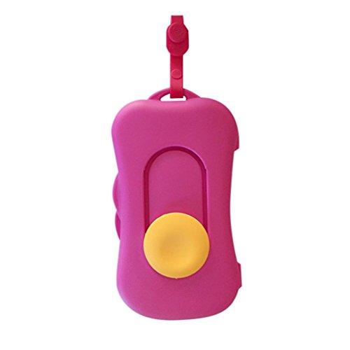 Hunpta - Viaja con Bebés, Caja de toallitas húmedas Estuche de limpieza Dispensador para cambio de pañal Recipiente contenedor