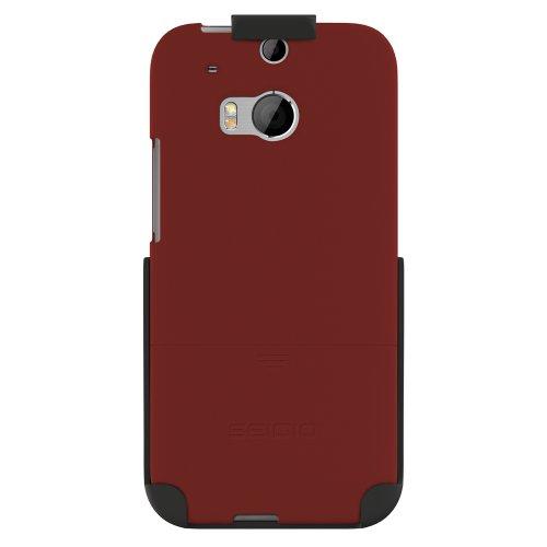 Seidio BD2-HR3HTM8-GR Surface Hülle mit Holster Combo für HTC One (M8) granatrot - Seidio Holster-design