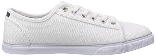Vans - Rowan, Sneaker basse Donna Bianco (Weiß ((Twill) white/w FOT))