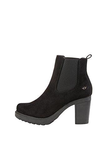 Fritzi aus Preussen Damen Lexi Chunky Heel Pumps, Schwarz (Black Micro 183), 37 EU Chunky Heel Pumps