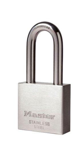 Master Lock 2340EURDLH Candado de Acero Inoxidable, Plateado, 40mm