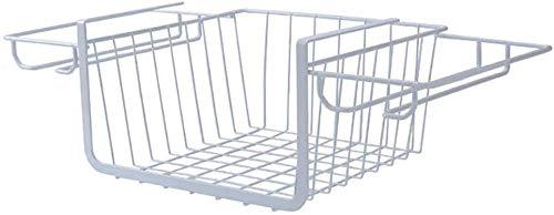 Weißer Maschen-Wand-Metalldraht-Korb, Glasgestell-hängender Becherhalter-Gitter-Platten-hängender Behälter, Draht-Speicher-Regal-Gestell für Hauptversorgungen -