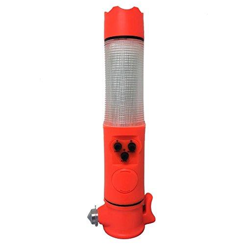 Auto Notfall Hammer Fahrzeugsicherheit Hammer Notfallhammer Auto Sicherheitshammer Multifunktional mit Gurtschneider Taschenlampe Warnlicht Magnet für Auto