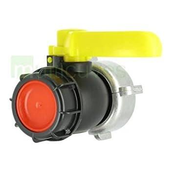 Vanne Cuve 1000l A Bille 2 Diametre 75 Mm S60x6 Compatible Schutz