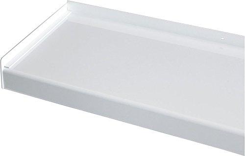 Fensterbank, Fensterbrett 180 mm Tief, 1800 mm Lang - Weiß (Ohne Seitenteile)