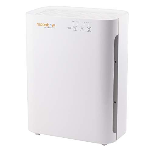 Hindware Moonbow AP-A8400UIN 55-Watt Air Purifier (White)